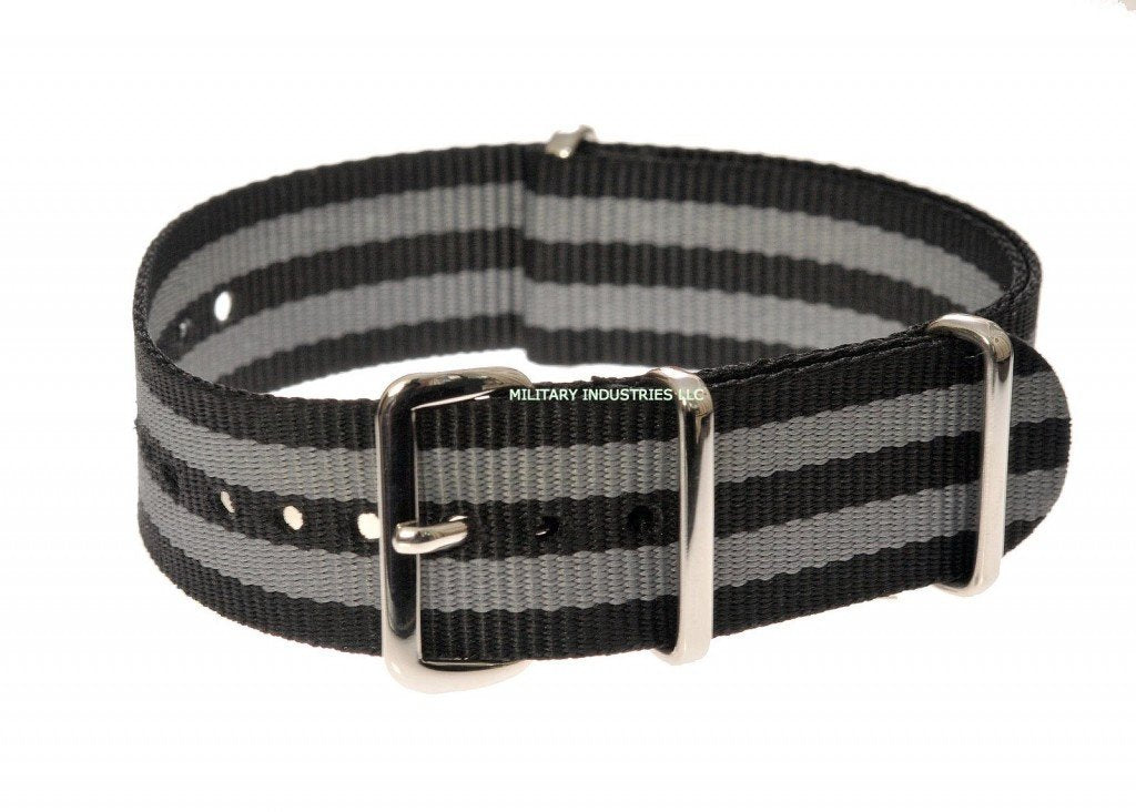 """James Bond"" Pattern Ballistic Nylon NATO Military Watch Strap"