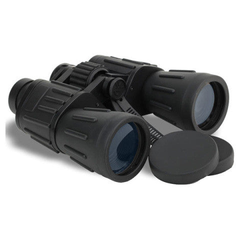 Rubberized 7x50 Binoculars with Carrying Case