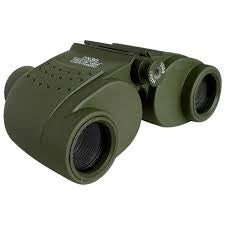 Rubberized 7 x 30 Binoculars with Carrying Case