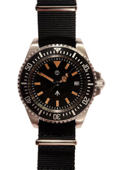 Military Industries 1982 Pattern 300m Water Resistant Military Divers Watch / Unbranded Version (Quartz)