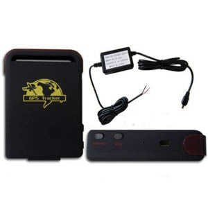 Compact GPS Personal Tracking System Operates on Cellular GSM Frequencies