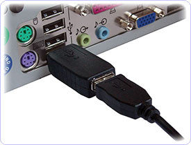 USB Keylogger which monitors all activity which takes place on your target computer