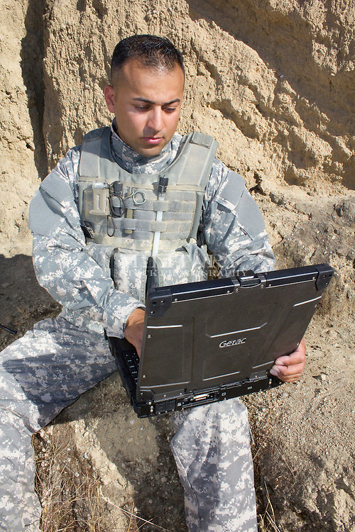 Grade A Government Surplus Ex Military or Security Services - GETAC S400 G2 Laptop Semi Rugged Windows 10 i5 3320M 2.6GHz 3rd Gen 8GB 500GB