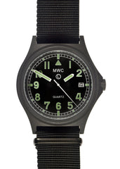 MWC G10 PVD Stealth 100m Water Resistant Military Watch (Contract Surplus)