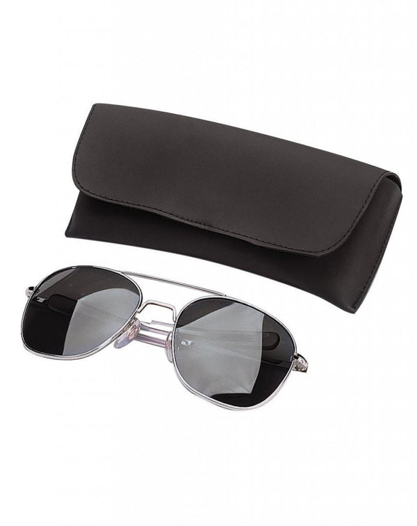 Military Aviator/Police Sunglasses with Smoke Lenses
