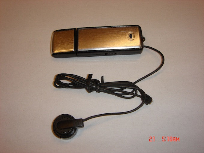 Covert 100 Hour Room and Telephone Surveillance Recording Device