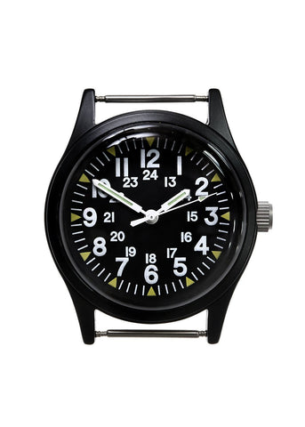 Military Industries Matt Black US Pattern Vietnam Watch