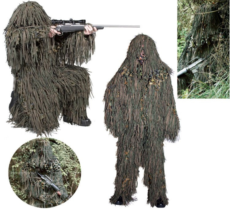 Ultimate Camouflage and Cover Surveillance Suit