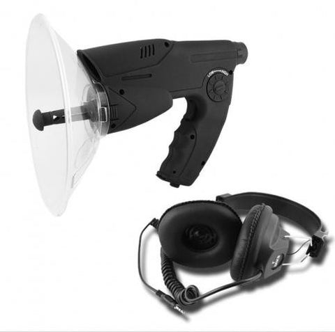 Parabolic Long Range Dish Surveillance Microphone and Amplifier