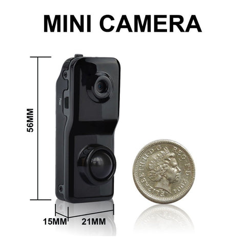 Covert Micro Camera and DVR Video Combination with Extended Battery Life