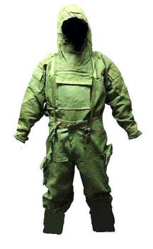 MK IV NBC Military Olive Green Chemical Suit NEW Size Medium