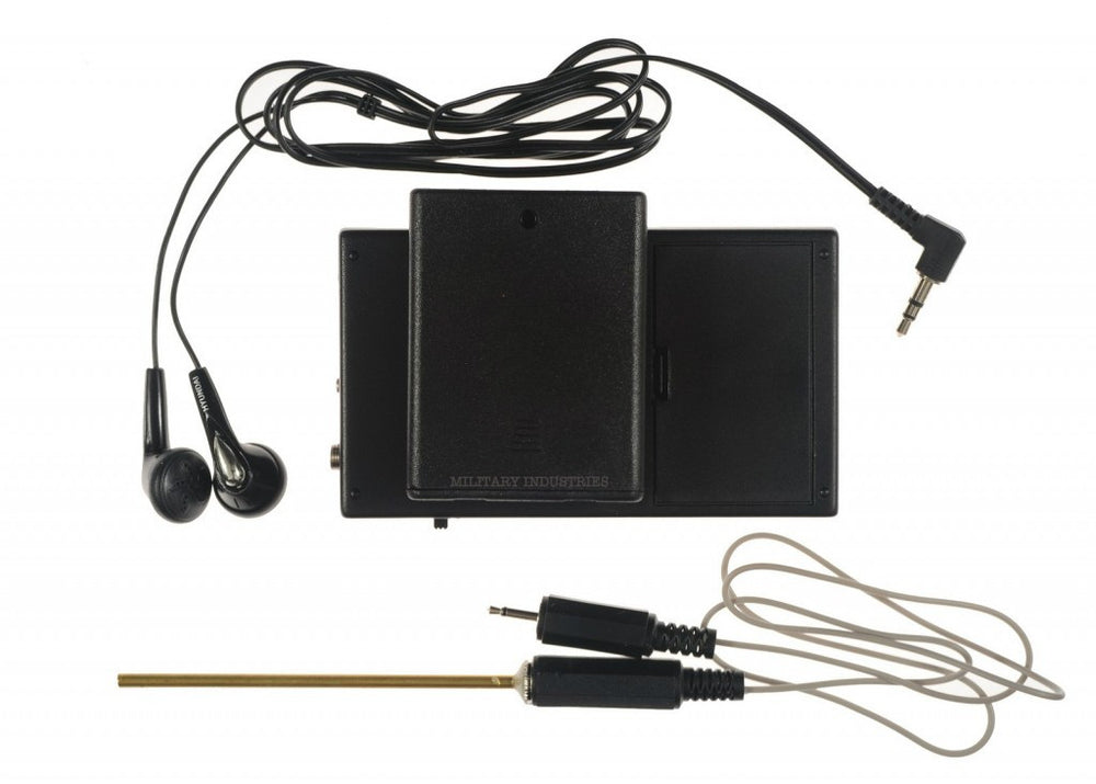 Covert Needle Surveillance Microphone and Recorder