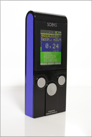 Soeks 01M radiation detector - geiger counter