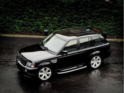 Armoured Range Rover Rental