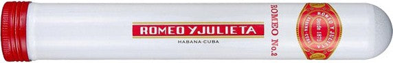 Romeo y Julieta Empty Cuban Cigar Tube - Ideal for secure concealment of small items or for collectors