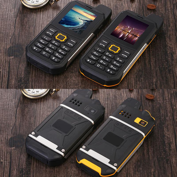 Water Resistant Dual SIM Military / Police Specification Rugged Cellphone (Network Unknown)