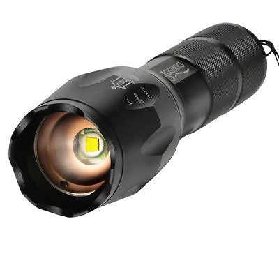 High Powered Military and Police Specification Tactical Flashlight / Torch