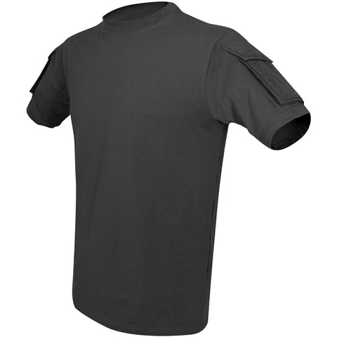 Police / Military Tactical T Shirt with Two Pockets (Available in Black, Olive and Desert)