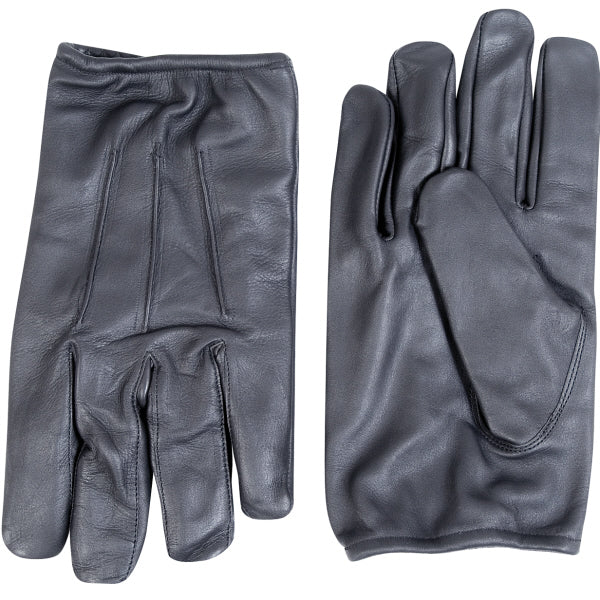 High Quality Leather Police / Security Industries Gloves With Slash Resistant Kevlar