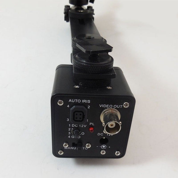 Night Vision Camera with LCD Screen and a Mount for a Rifle Scope Includes IR Illuminator