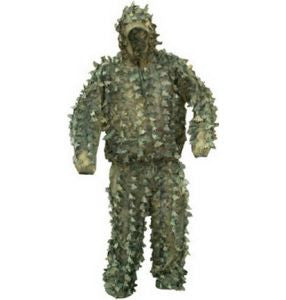 Woodland Camouflage Covert Concealment and Surveillance Suit