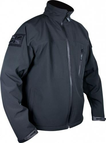 Black Tactical Soft Shell Jacket