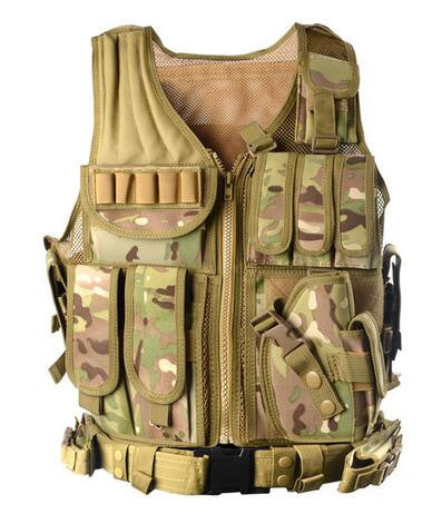 Military Tactical Vest Available in a wide Range of Colours