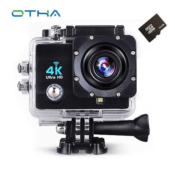 OTHA 4K Action Camera Wifi Full HD 1080p 60fps 2.0 LCD 170 Degree Waterproof 30M Surveillance Video Camcorder Sport Camera