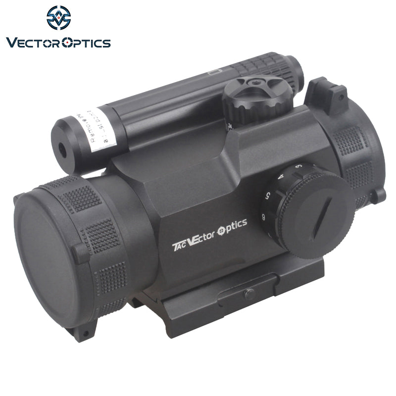 Vector Optics Rayman 1x30 Red Dot Scope GunSight with Side RED Laser Sight Combo AK15 AK 47 Weapon Sight fit Picatinny Rail