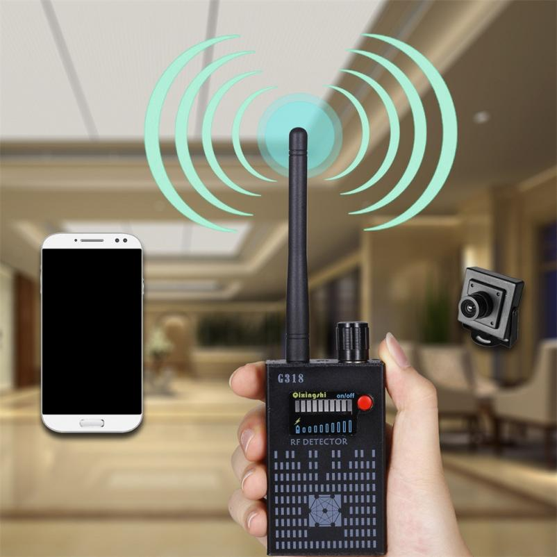 Anti-Spy wireless Amplification Detector Bug Hidden Signal Detector Gadgets G318 DE13