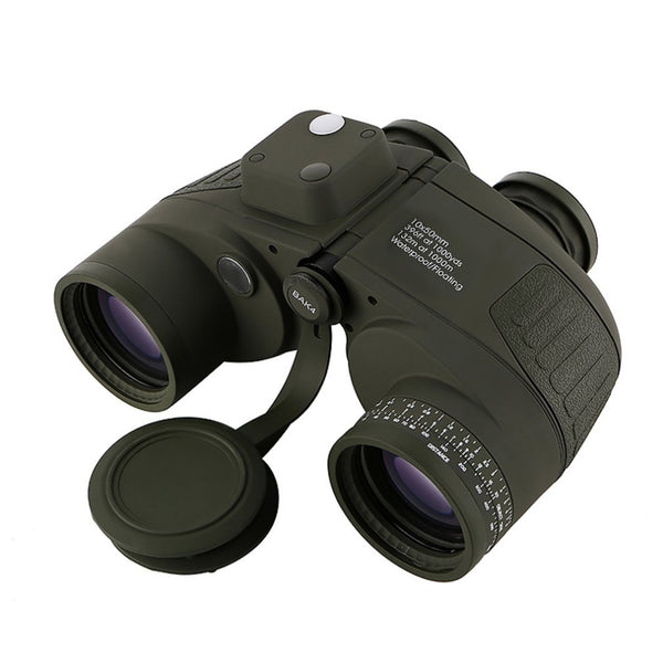 Professional Focusing Military Telescope Binoculars With Electronic Compass Waterproof Fogproof Floating Telescope Binoculars