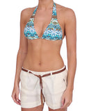 Touché, Kaleidoscope Casual Shorts & Bikini Top set, Womens Swimwear & Loungewear