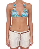 Touché, Kaleidoscope Casual Shorts & Bikini set, Women's Swimwear & Loungewear