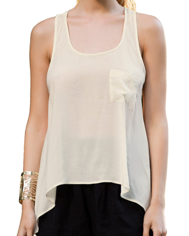 Touché, Loki Sleeveless Blouse-Shirt, Women's Beach & Loungewear