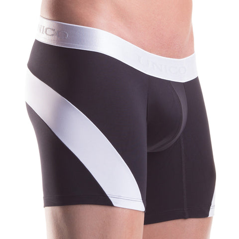 Unico Boxer Long Leg Pop-Arc Microfibre, Men's Underwear