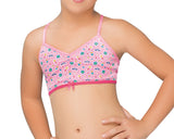 Formas Intimas 14646 Girl's Vest Top, Neon Pink