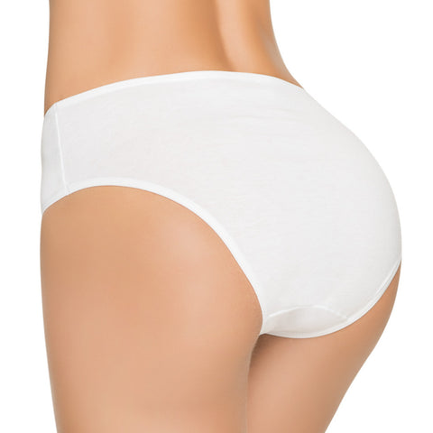 Formas Intimas 601691 Classic Comfort Knickers 3-Pack, White/Cream/Taupe