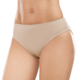 Formas Intimas 62002 Classic Comfort Knickers 2-Pack, Light Brown/White