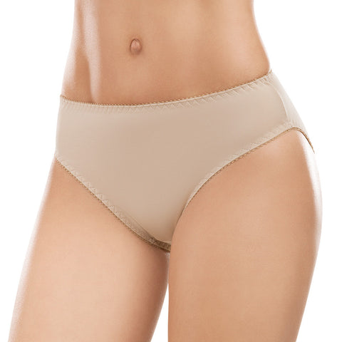 Formas Intimas 62002 Classic Comfort Knickers 2-Pack, Light Brown/Pink