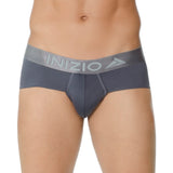 Inizio Brief Million Microfibre Men's Underwear, Grey