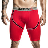 Inizio Boxer Xtra Long Yosir Microfibre Men's Underwear, Red