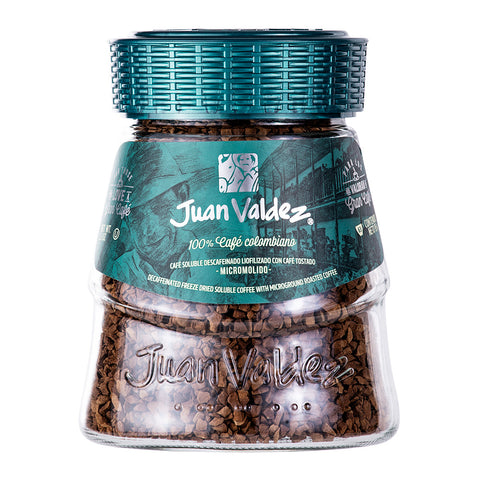 Juan Valdez® Decaf' Freeze Dried Instant Coffee, 95g Jar