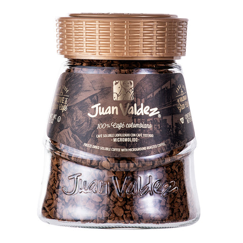 Juan Valdez® Regular Freeze Dried Instant Coffee, 95g Jar
