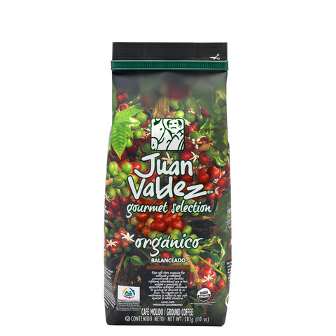 Juan Valdez® Organic Ground Coffee, 283g Pack