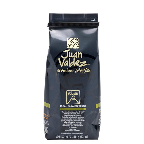 Juan Valdez® Premium Volcán Ground Coffee, 340g Pack