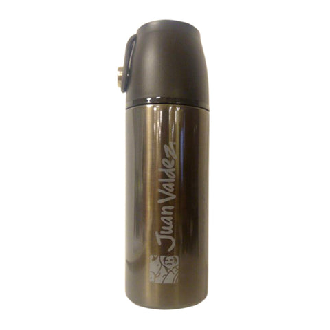 Juan Valdez® Black Thermo Vacuum Flask, 350ml