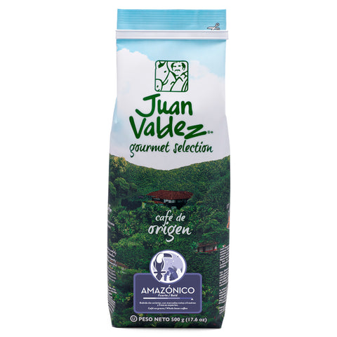 Juan Valdez® Single Origin Amazónico Whole Bean Coffee, 500g Pack