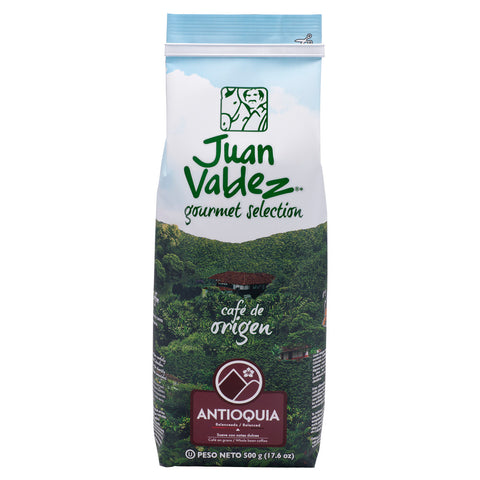 Juan Valdez® Single Origin Antioquia Whole Bean Coffee, 500g Pack