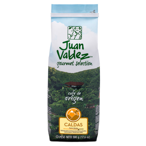 Juan Valdez® Single Origin Caldas Whole Bean Coffee, 500g Pack