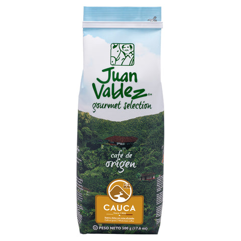 Copy of Juan Valdez® Single Origin Cauca Whole Bean Coffee, 500g Pack